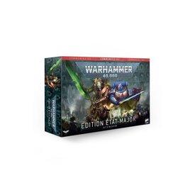 Warhammer 40k WARHAMMER 40000 ÉDITION ÉTAT-MAJOR (FRANÇAIS)