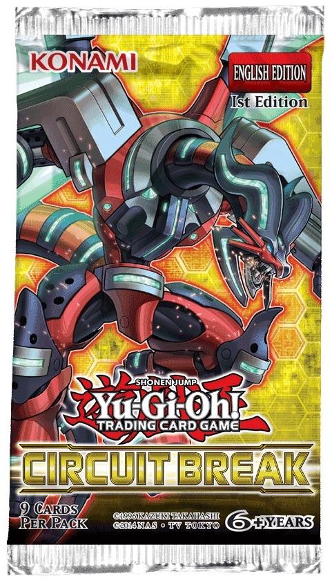 Konami YGO Circuit Break Booster Pack