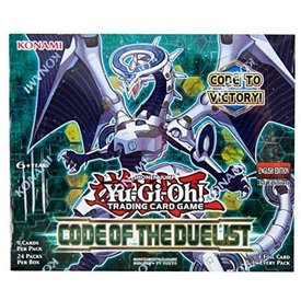 Konami YGO CODE OF THE DUELIST BOOSTER BOX