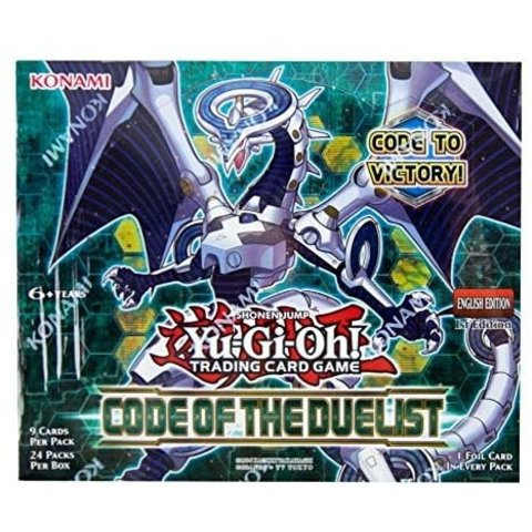 YGO CODE OF THE DUELIST BOOSTER BOX