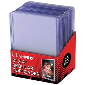 Ultra Pro UP TOPLOAD 3X4 REGULAR CLEAR 25CT
