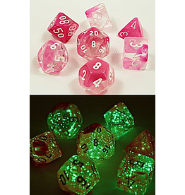 CHESSEX NEBULA 7-DIE SET SUPERNOVA LUMINARY (Lab Dice)