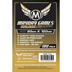Mayday MAGNUM DIXIT SLEEVES 80mm X 120mm 100CT