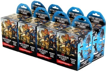 WIZKIDS DND ICONS 16: MYTHIC ODYSSEY THEROS BOOSTER BRICK (8)