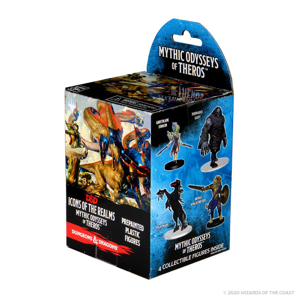WIZKIDS DND ICONS 16: MYTHIC ODYSSEY THEROS BOOSTER PACK