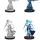 WIZKIDS DND UNPAINTED MINIS FEMALE ELF WIZARD