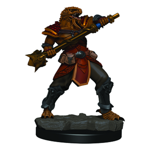 DND ICONS: PREMIUM FIG MALE DRAGONBORN FIGHTER