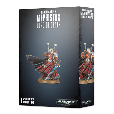 BLOOD ANGELS MEPHISTON - LORD OF DEATH