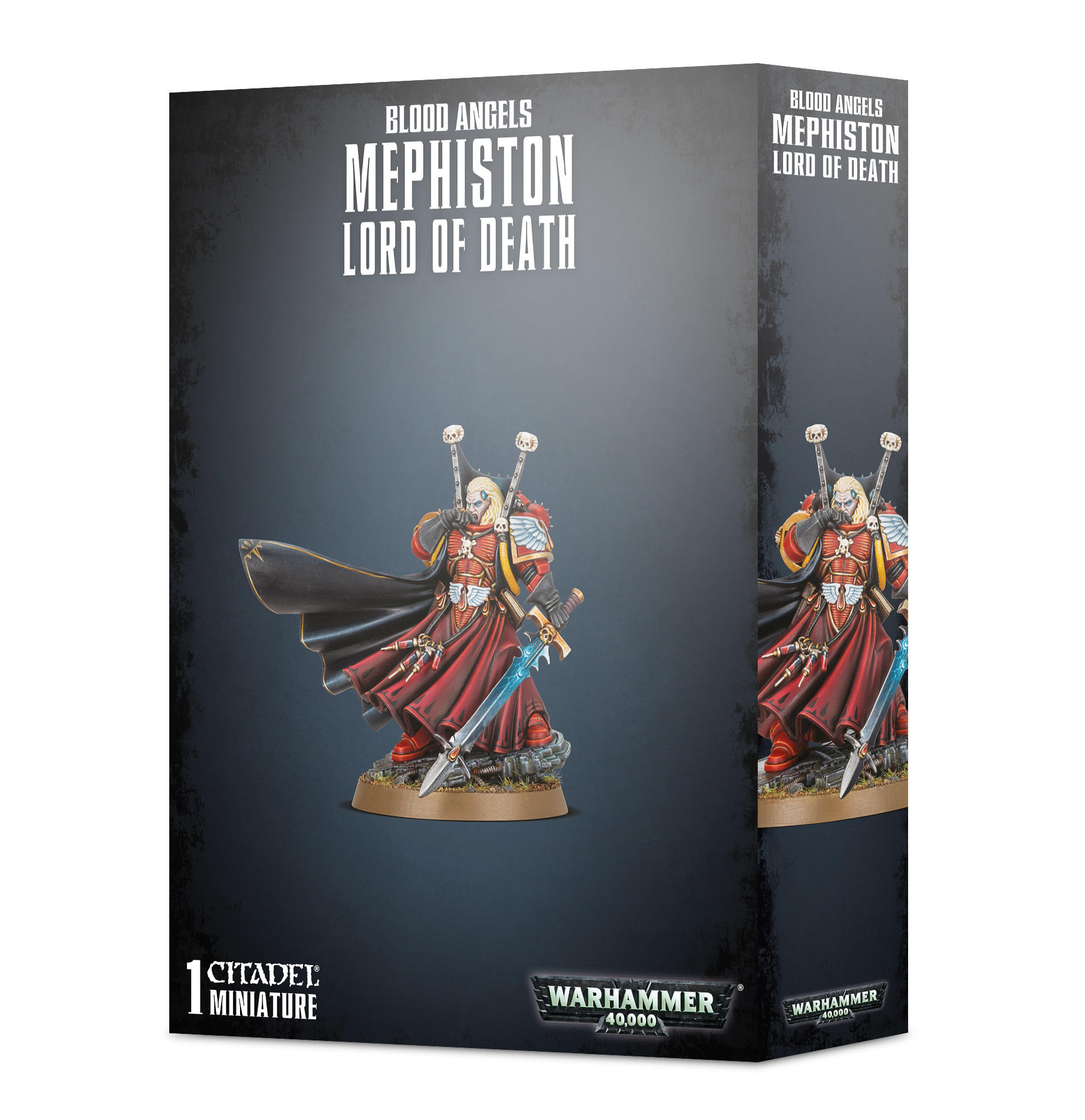 Warhammer 40k BLOOD ANGELS MEPHISTON - LORD OF DEATH