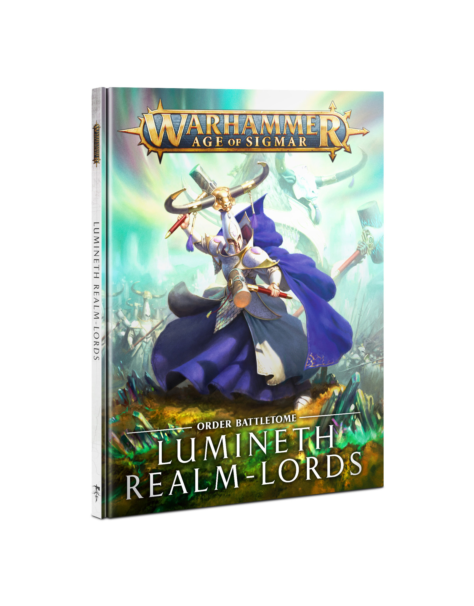 Age of Sigmar BATTLETOME: LUMINETH REALM-LORDS (ENGLISH)