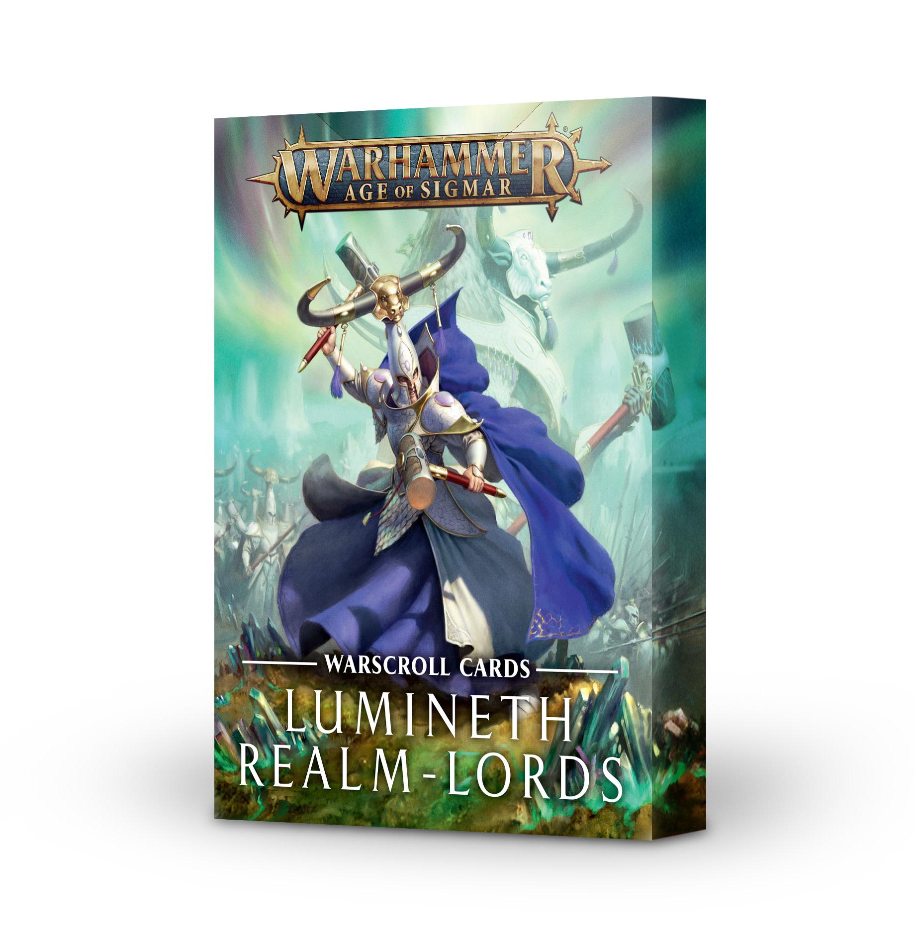 Age of Sigmar WARSCROLLS: LUMINETH REALM-LORDS (ENGLISH)