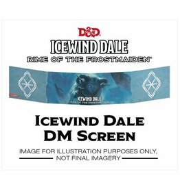Wizards of the Coast DND DM SCREEN ICEWIND DALE RIME OF THE FROSTMAIDEN *DATE DE SORTIE FIN OCTOBRE*