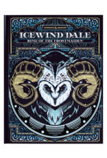 Wizards of the Coast DND RPG ICEWIND DALE RIME OF THE FROSTMAIDEN ALT COVER
