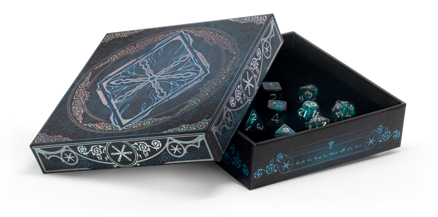 Wizards of the Coast DND RPG ICEWIND DALE RIME OF THE FROSTMAIDEN DICE SET *DATE DE SORTIE 29 SEPTEMBRE*
