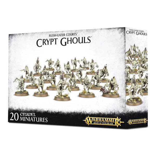 Age of Sigmar Flesh-Eater Courts Crypt Ghouls