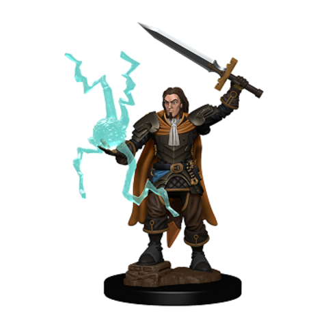 PF BATTLES: PREMIUM PAINTED FIG - HUMAN CLERIC MALE