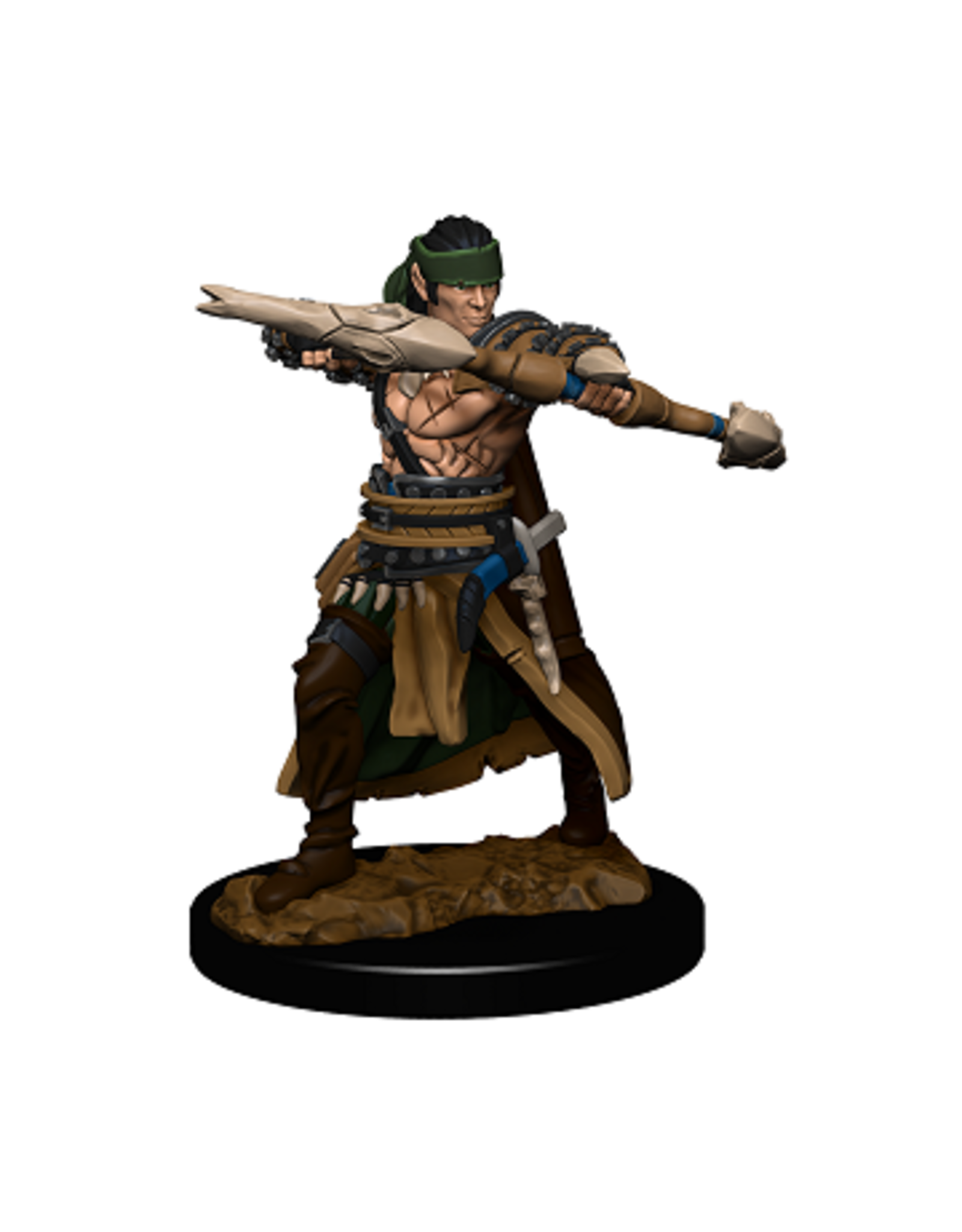 WIZKIDS PF BATTLES: PREMIUM PAINTED FIG - HALF-ELF RANGR MALE