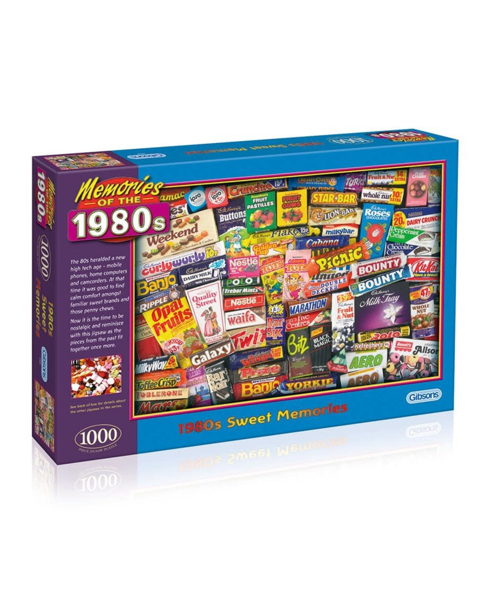 Gibson Puzzle: 1000 1980s Sweet Memories