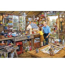 Gibson Puzzle: 1000 Grandad's Workshop