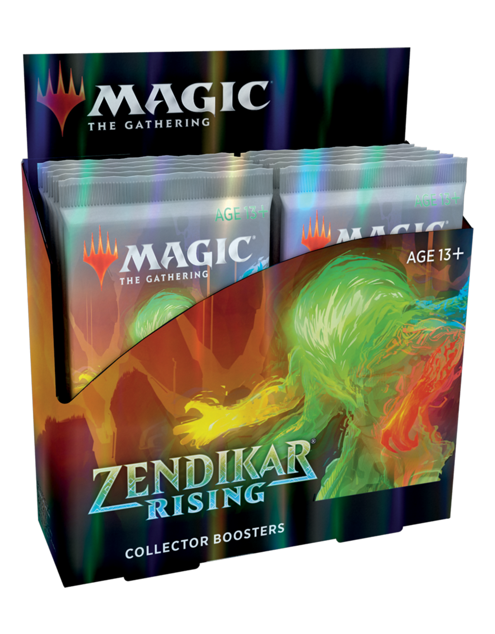 Wizards of the Coast MTG ZENDIKAR RISING COLLECTOR BOOSTER BOX (EN)