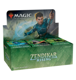 Wizards of the Coast MTG ZENDIKAR RISING DRAFT BOOSTER BOX (EN)
