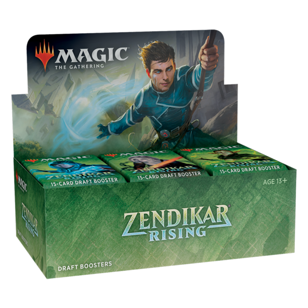 Wizards of the Coast MTG ZENDIKAR RISING DRAFT BOOSTER BOX (EN)