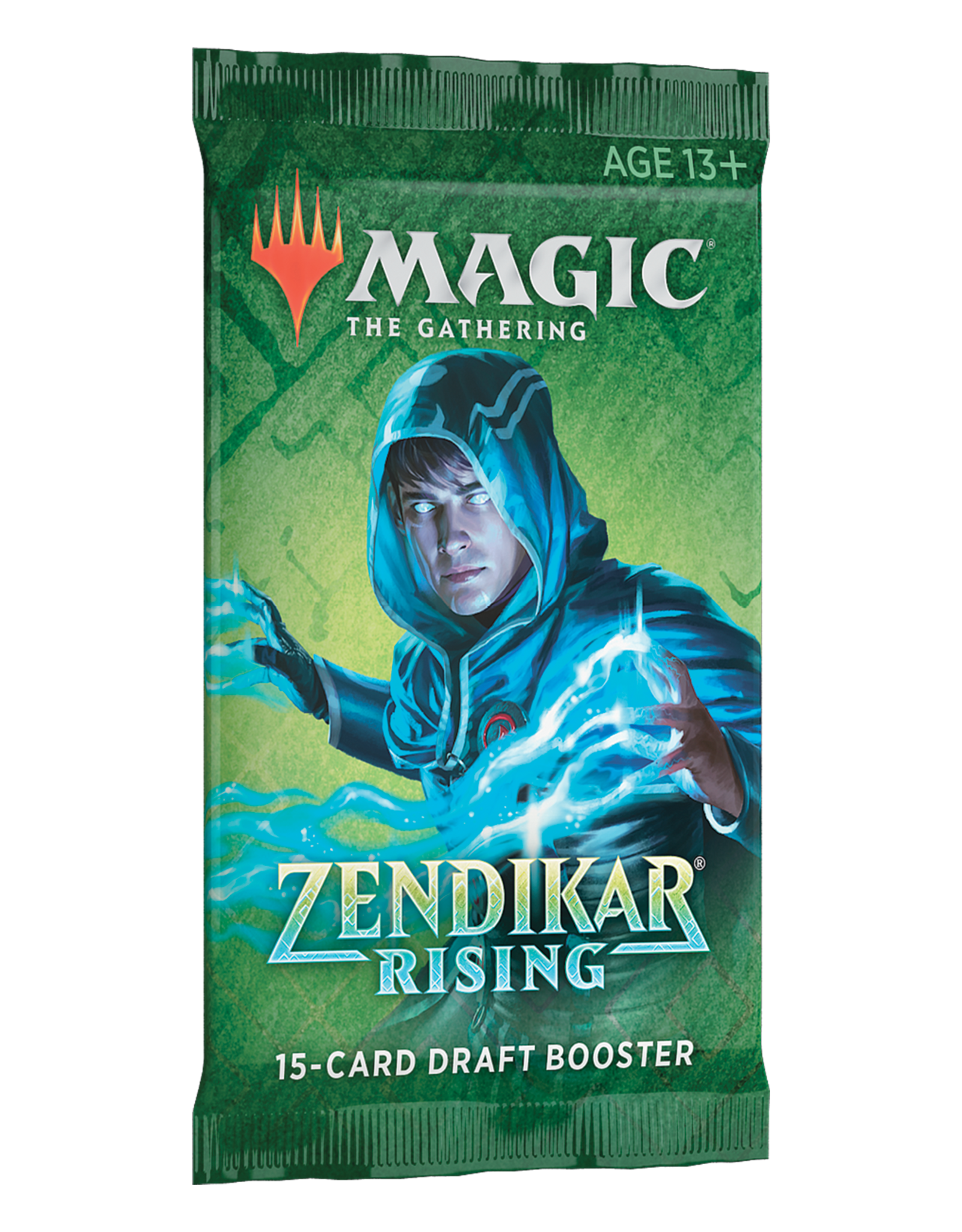 Wizards of the Coast MTG ZENDIKAR RISING DRAFT BOOSTER PACK (EN)