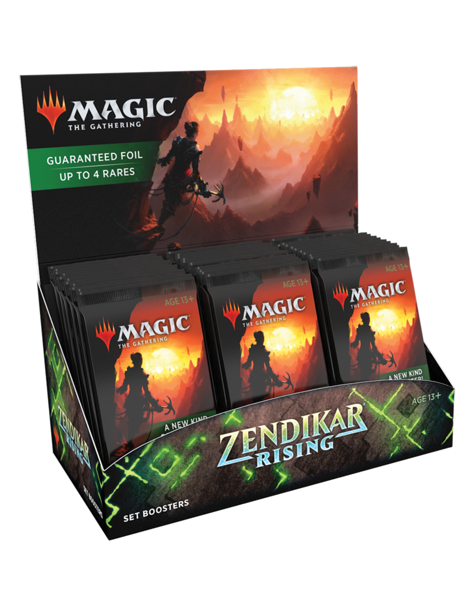 Wizards of the Coast MTG ZENDIKAR RISING SET BOOSTER BOX (EN)
