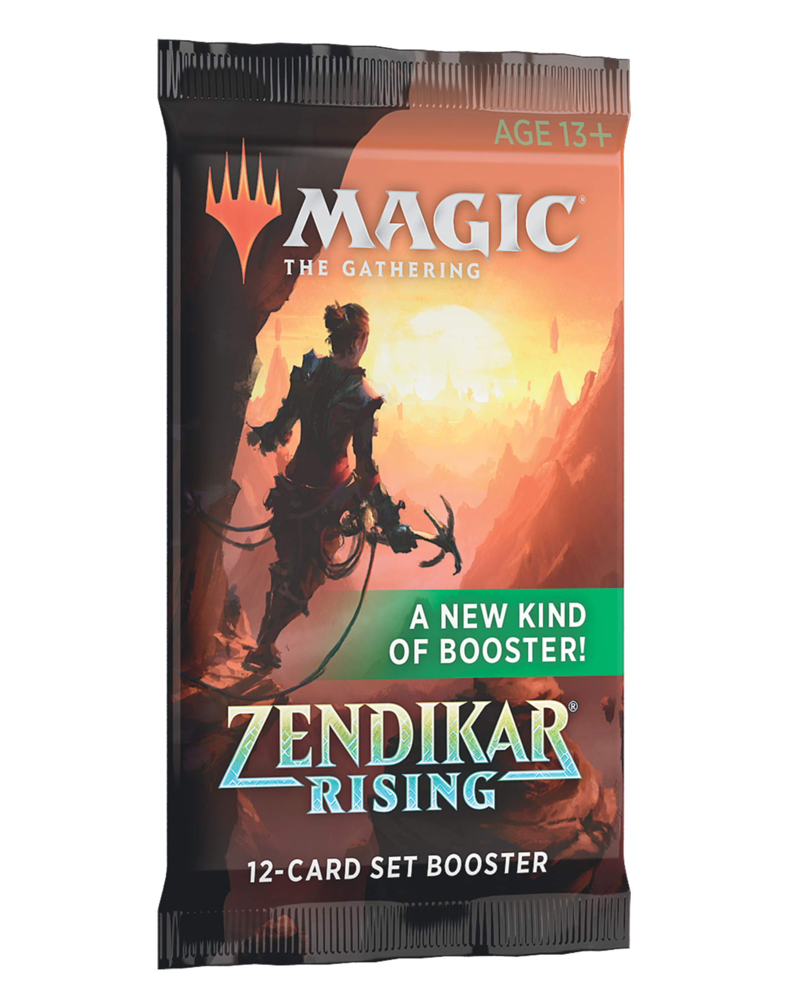 Wizards of the Coast MTG ZENDIKAR RISING SET BOOSTER PACK (EN)