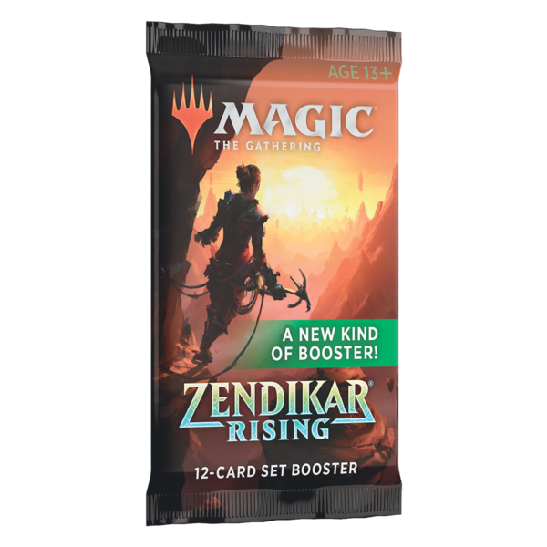 Wizards of the Coast MTG ZENDIKAR RISING SET BOOSTER PACK (EN)