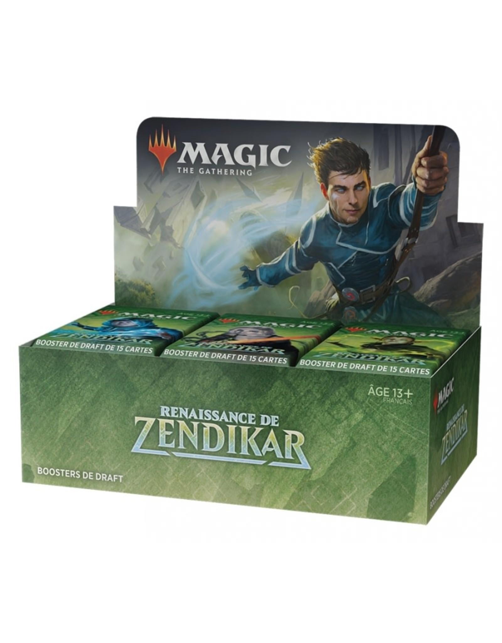 Wizards of the Coast MTG RENAISSANCE DE ZENDIKAR BOOSTER BOX (FR)