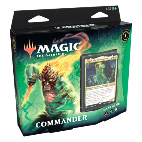MTG ZENDIKAR RISING - Commander Land's Wrath
