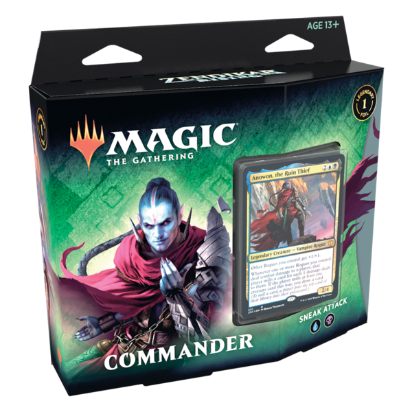 Wizards of the Coast MTG ZENDIKAR RISING - Commander Sneak Attack