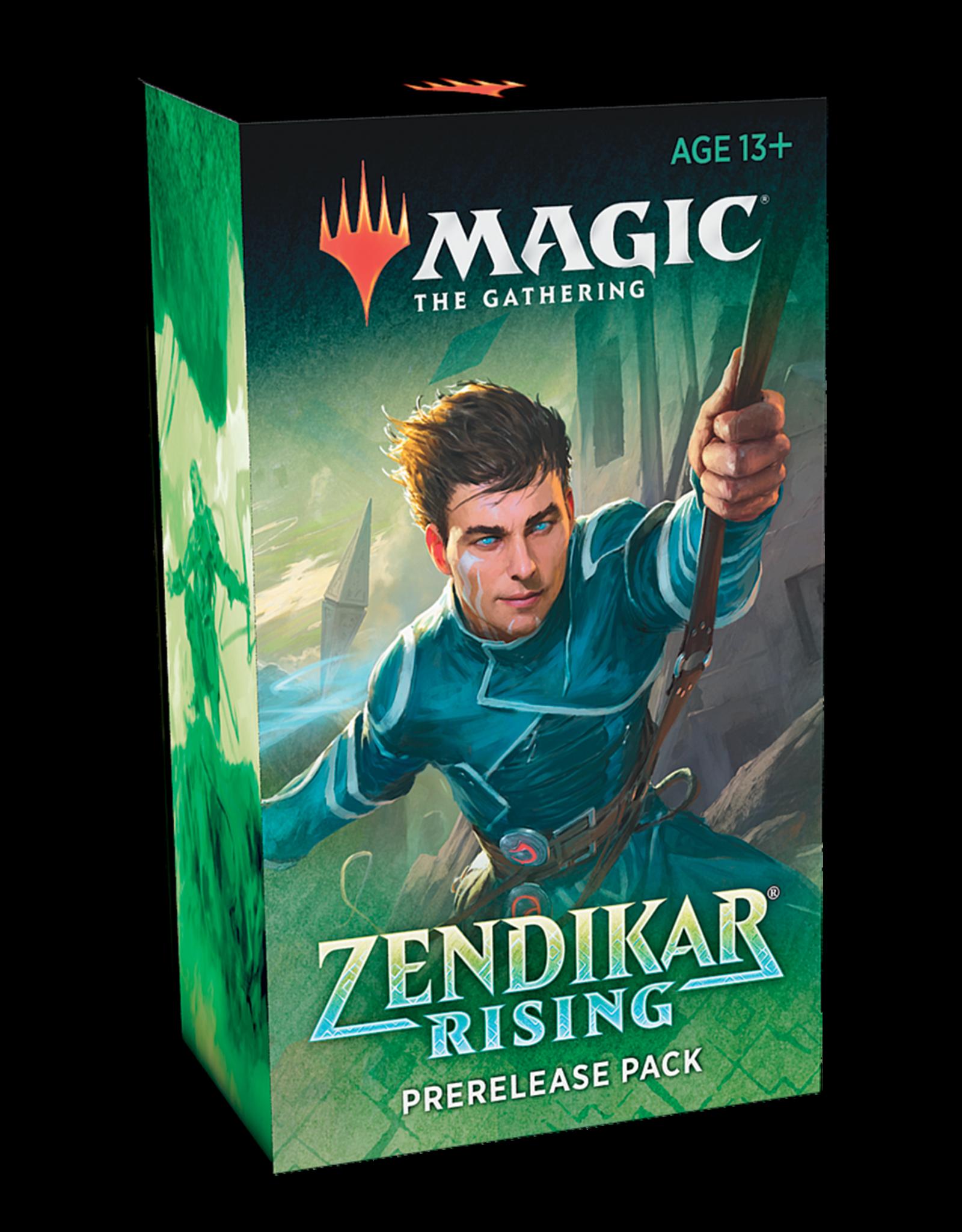 Wizards of the Coast MTG Zendikar Rising Prerelease Kit