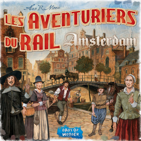 AVENTURIERS DU RAIL EXPRESS : AMSTERDAM