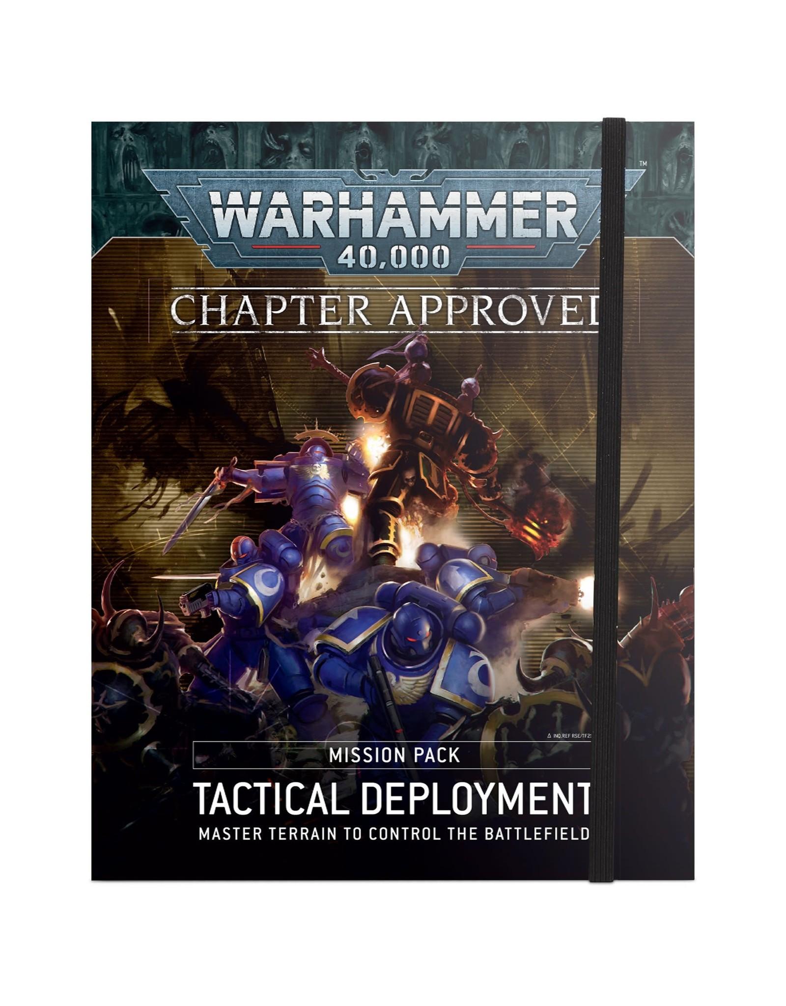 Warhammer 40k 40K: TACTICAL DEPLOYMENT MISSION PACK (FRANÇAIS)