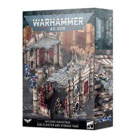 Warhammer 40k BATTLEZONE: SUB-CLOISTER & STORAGE FANE