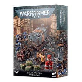 Warhammer 40k BATTLEZONE MANUFACTORUM: CONSERVATORS