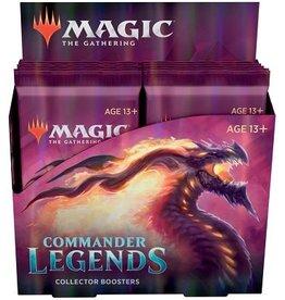 Wizards of the Coast MTG COMMANDER LEGENDS COLLECTOR BOOSTER BOX *DATE DE SORTIE 20 NOVEMBRE*