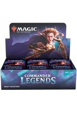 Wizards of the Coast MTG COMMANDER LEGENDS DRAFT BOOSTER BOX *DATE DE SORTIE 20 NOVEMBRE*