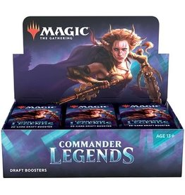 Wizards of the Coast MTG COMMANDER LEGENDS DRAFT BOOSTER BOX
