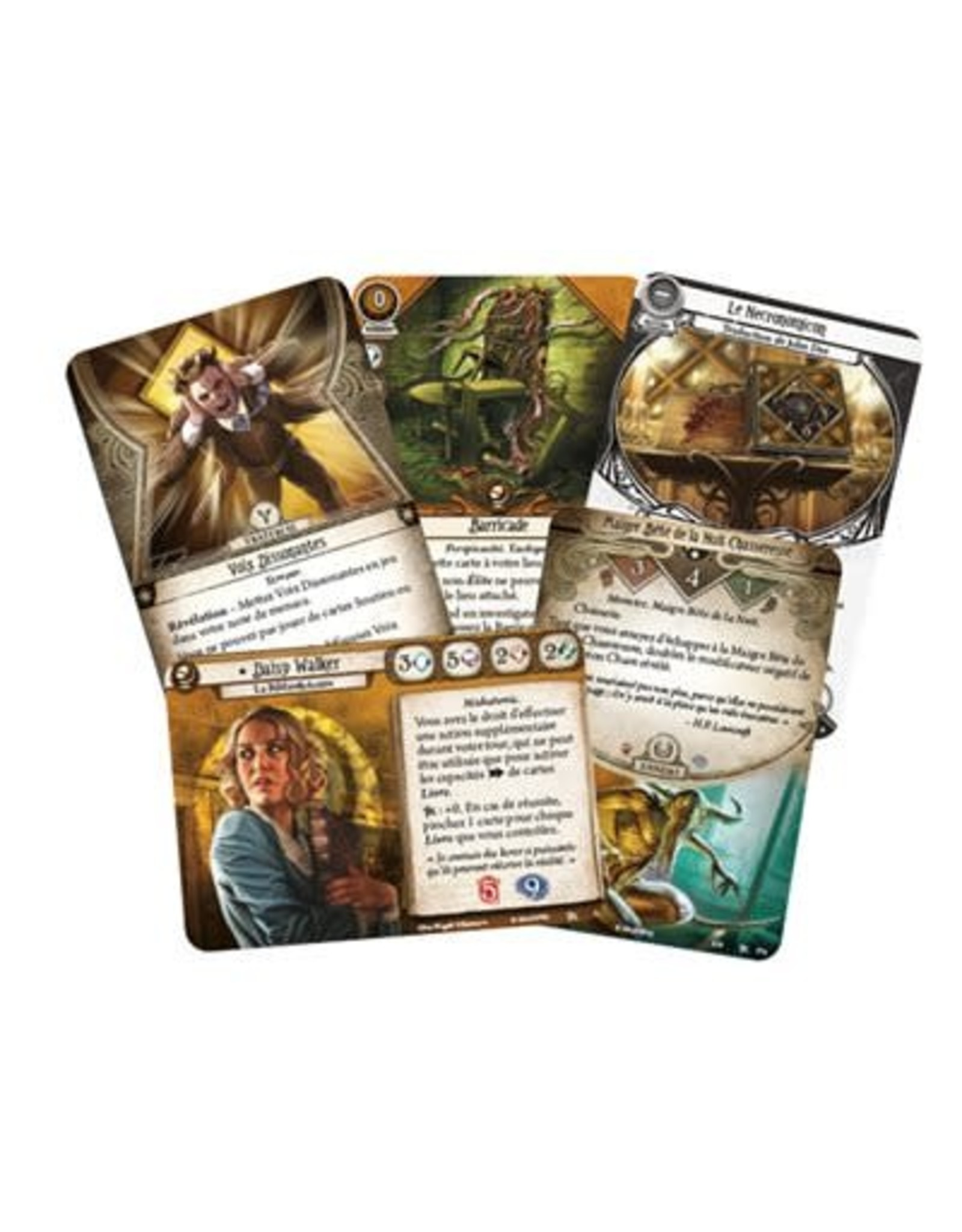 FANTASY FLIGHT Horreur A Arkham JCE: Le Jeu De Cartes