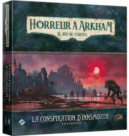 FANTASY FLIGHT Horreur A Arkham JCE: La Conspiration D'Innsmouth