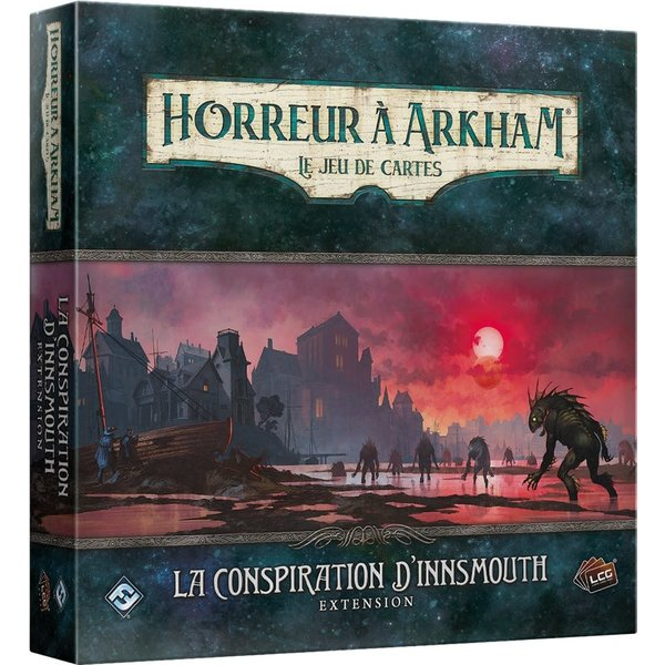 FANTASY FLIGHT Horreur A Arkham JCE: La Conspiration D'Innsmouth
