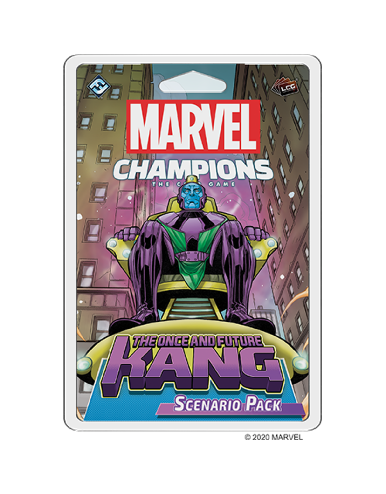FANTASY FLIGHT Marvel Champions: LCG: The Once And Future Kang Scenario Pack