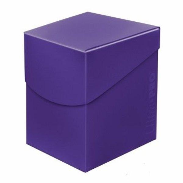 Ultra Pro UP D-BOX ECLIPSE ROYAL PURPLE 100+