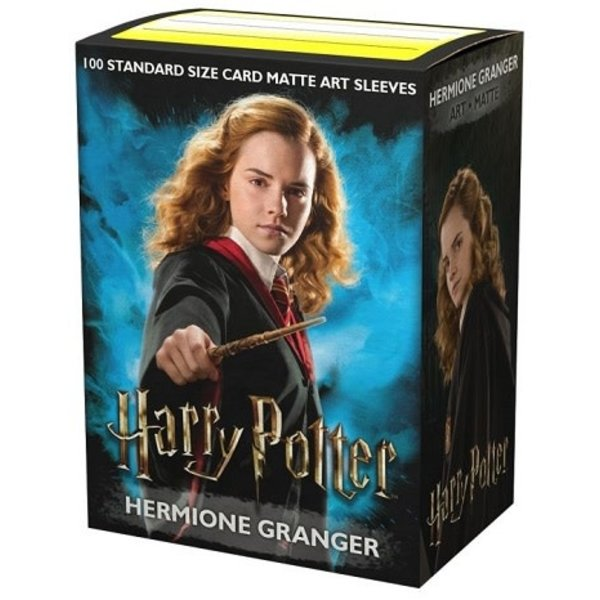 Arcane Tinmen DRAGON SHIELD SLEEVES WIZARDING WORLD HERMIONE - Matte