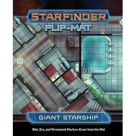 Paizo STARFINDER FLIP-MAT GIANT STARSHIP