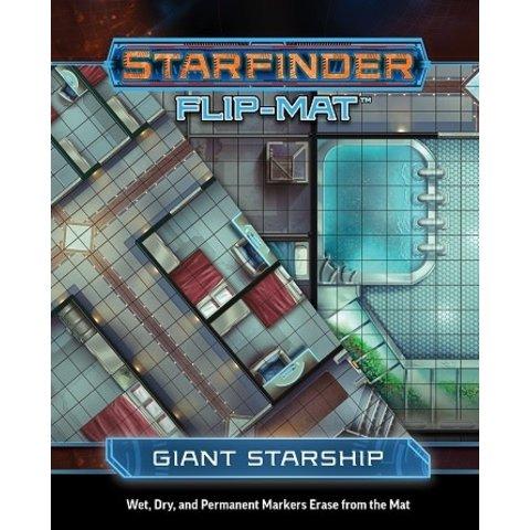 STARFINDER FLIP-MAT GIANT STARSHIP