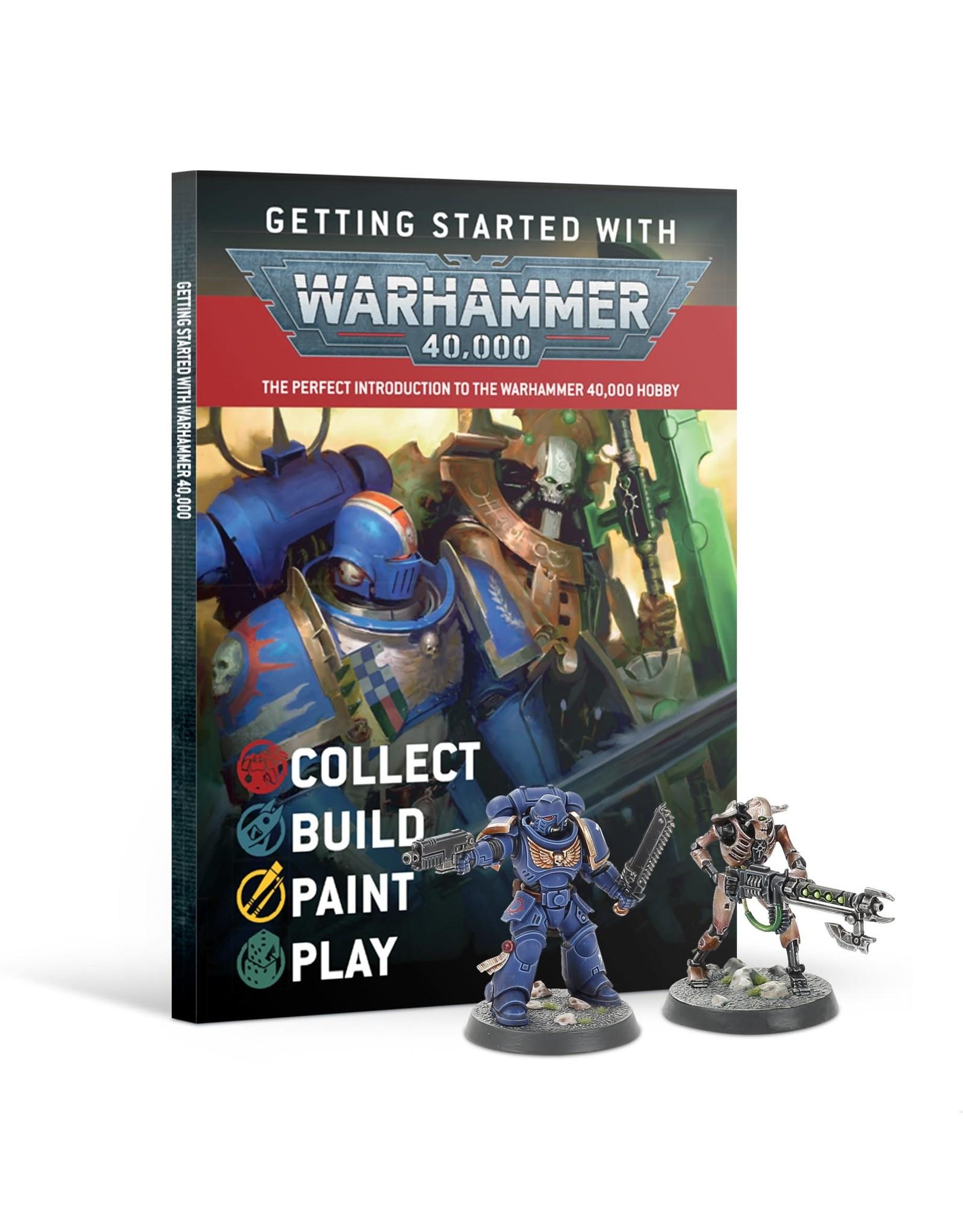 Warhammer 40k GETTING STARTED WITH WARHAMMER 40K (ENG)